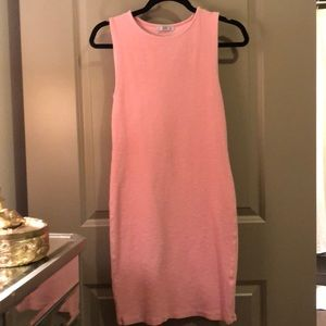 Baby Pink Body Con Dress
